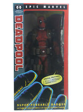 "Neca Ultimate Deadpool 1/4 Scale Figure Epic Marvel Comics 18"" Inch New In Box"