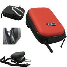 Maletines, bolsas y fundas rojo para cámaras de vídeo y fotográficas Canon