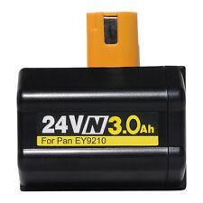 2×24V 3000mAh Battery forPanasonic Cordless EY6813 SDS PLUS ROTARY HAMMER DRILL