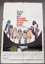 """""""Beyond the Valley of the Dolls"""" Original Movie Poster 40"""" x 27"""""""
