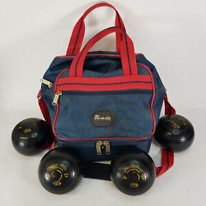 Drakes Pride Professional Lawn Bowls Size 1M & Henselite Bag