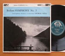 ACL 103 Brahms Symphony no. 3 George Szell Concertgebouw EX/EX Decca Grvd Mono