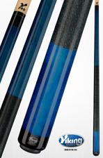 Viking Pool Cue 2 pc. 13mm TEAL billiards, Custom A234 new Warranty Free Glove