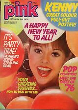 Pink Magazine 3 January 1976 No 145     Kenny Bay    City Rollers    The Osmonds