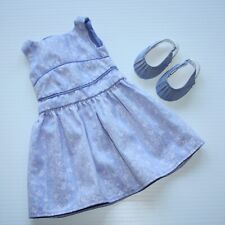 American Girl Springtime Sundress Sateen Dress and Sandals Shoes for Doll Only