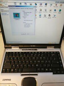 Compaq Evo N8000c Intel Pentium 4 Mobile @1.7GHz 500MB RAM 32GB HDD Windows 2000