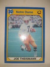 1990 Collegiate Collection Notre Dame football #4 JOE THEISMANN FREESHIP