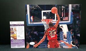 KEVIN DURANT ALL-STAR OKLAHOMA CITY NBA SIGNED 8X10 PHOTO JSA COA