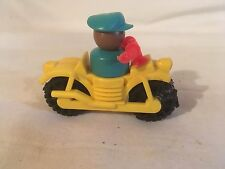Vintage Fisher Price Little People motorcycle and person