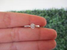 .22 Carat Face Illusion Diamond White Gold Engagement Ring 18k sep (PRE-ORDER)