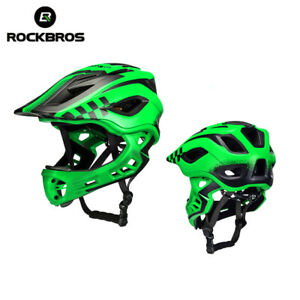 RockBros Cycling Helmet Kids Detachable Safety Protective Full-Face Helmets
