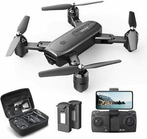 DEERC D30 Foldable Drone with 1080P FPV HD Camera for Adults, RC Quadcopter with