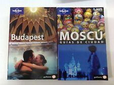Guia Lonely Planet Budapest edición 2006+ Moscou Edición 2009