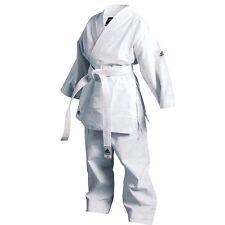 New adidas Karate Training Gi Karate Beginner's Uniform Set All sizes-WHITE