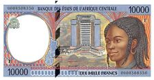 Central African States (E) Cameroun 10.000 Francs 2000 Pn 205Ef Unc