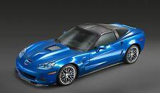 2015 Corvette zr1 blue 24X36 inch poster, sports car, muscle car