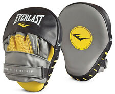 Everlast Leather Mantis Punch Mitts - Yellow