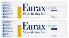 2 Packs - Eurax Cream 100g Stops Itching Fast