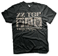 Officially Licensed ZZ-Top - Tres Hombres Men's T-Shirt S-XXL Sizes