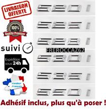 4pcs chiffre de coffre AUTOADHESIF serie 5 G30 F90 F10 F10 E60 E61 E39 E34 BMW