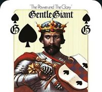 GENTLE GIANT - THE POWER AND THE GLORY (5.1&2.0 STEVEN WILSON MIX  DVD  CD) NEW+