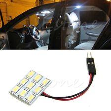 T10 BA9S 194 168 W5W 9-LED 5630 Car Interior Festoon Panel Adapter Bulb Light
