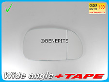 Wing Mirror Glass For BMW Z3 1995-2003 Wide Angle + Strong TAPE Right B012 270