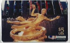 TK Telefonkarte/Phonecard USA Amerivox Rockefeller Center Auflage 2500