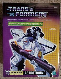 Transformers Decepticon Astrotrain Commemorative Series IX MISB