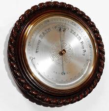 ✅ Seltenes Wandbarometer mit Thermometer ca. 1885 England ✅