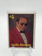 1990 Classic Wwf Gorilla Monsoon Card #52 Wwe