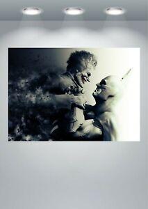 Batman Joker Arkham Dark Knight Poster Art Print in multiple sizes