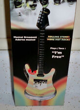 Rolling Stones JAGGER RICHARDS I'M FREE MUSICAL GUITAR CHRISTMAS ORNAMENT