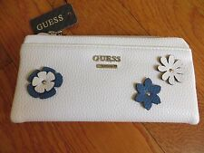 NWT GUESS CHERRYWOOD Fold-Over Floral Wallet Purse Handbag Bag