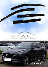 For Mazda CX-5 CX5 17-on Window Visor Vent Sun Shade Rain Guard Door Visor