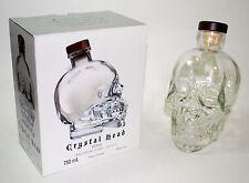 CRYSTAL HEAD VODKA SKULL BOTTLE 750 ml (Empty)