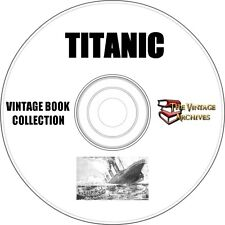 The Titanic Vintage Book Collection on CD - 6 Books