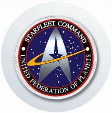 STAR TREK STARFLEET COMMAND CAR TAX DISC HOLDER REUSABLE PARKING PERMIT HOLDER