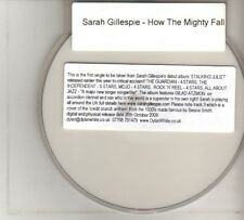 (DO853) Sarah Gillespie, How The Mighty Fall - 2009 DJ DVD