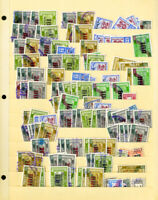 Israel Massive Unsearched Revenue Stamp Collection Over 500 Issues