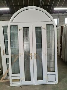 Upvc Arched French Door 1605mm X 2540mm