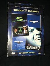 Wwe Tagged Classics Unforgiven Summerslam 2004 Rare Dvd Set Oop Wwf