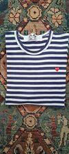 Comme Des Garcon Long Sleeve marina style T-Shirt Size large authentic