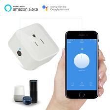 Mini Smart Power Socket Wifi Wireless Switch Voice Control Outlet US Plug Alexa