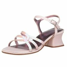 Kenneth Cole Bone Dress Sandals with Iridescent Sequins  NEW Youth Girls 4