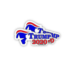 Trump 2020 - Republican Presidential Election Trump Sticker Decal 2 Pack
