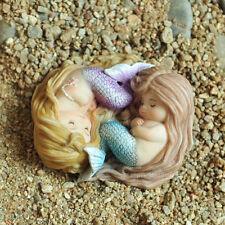 Miniature Fairy Garden SLEEPING LITTLE MERMAID FRIENDS (NEW)