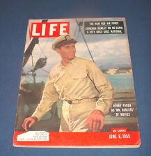 LIFE MAGAZINE JUNE 6 1955 HENRY FONDA HOFSTRA LACROSSE TORNADO KANSAS NICE!