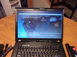 Libreboot Thinkpad T500 - Intel T9600, 8GB RAM, 240GB SSD, Debian, Atheros Wi-Fi