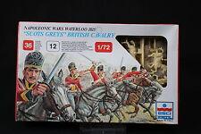 YB093 ESCI 1/72 maquette figurine 217 Scots Greys British Cavalry Waterloo 1815